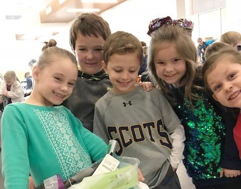UP Panthers help give to Hope Supply Co. Featured Photo