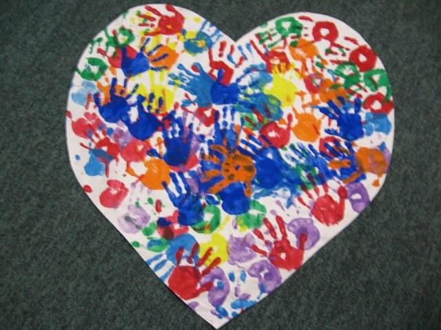 Children's Heart Art