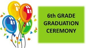 6th Grade Graduation May 22 @ 6pm! Featured Photo