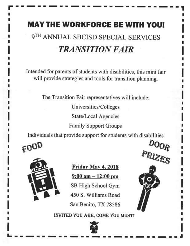 Transition Fair Flyer