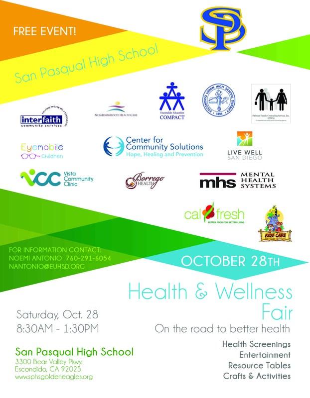 Health & Wellness Fair 10/28 Thumbnail Image