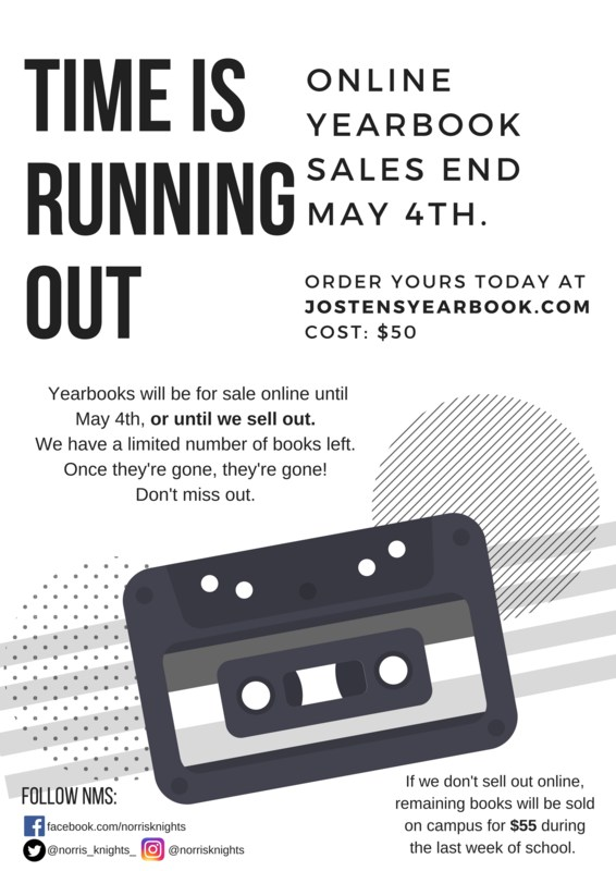 Yearbook Sale Flier