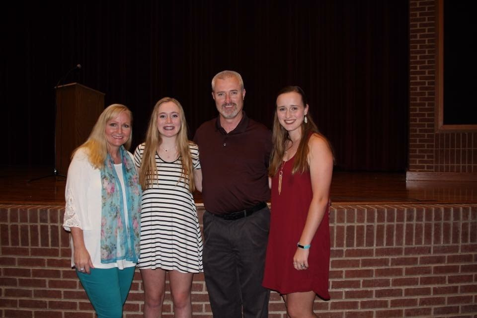Mr. Beam and his family