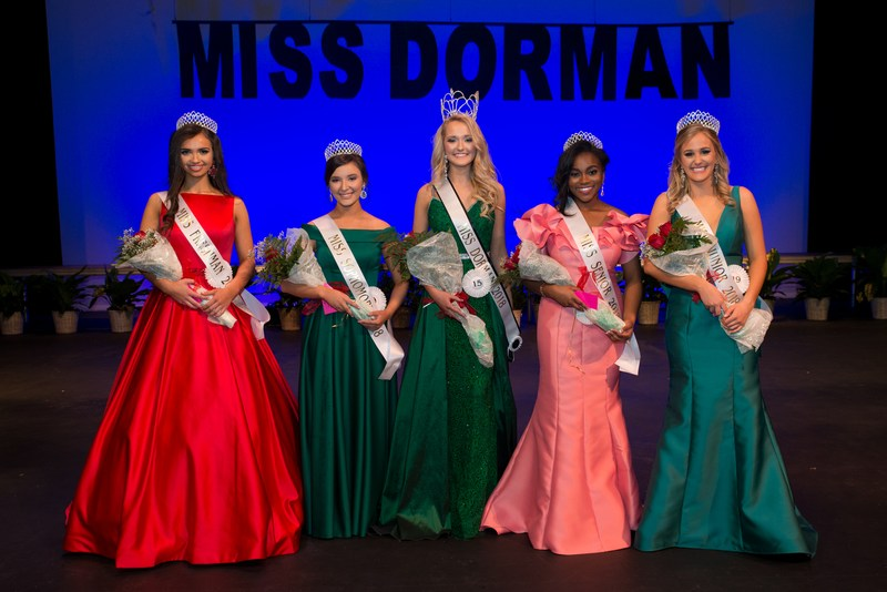 2018 Miss DHS Winners