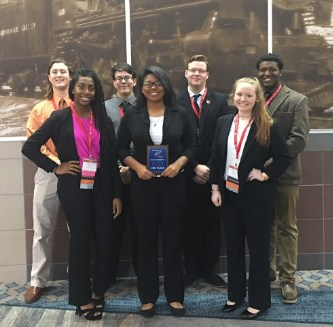 FBLA students at the convention