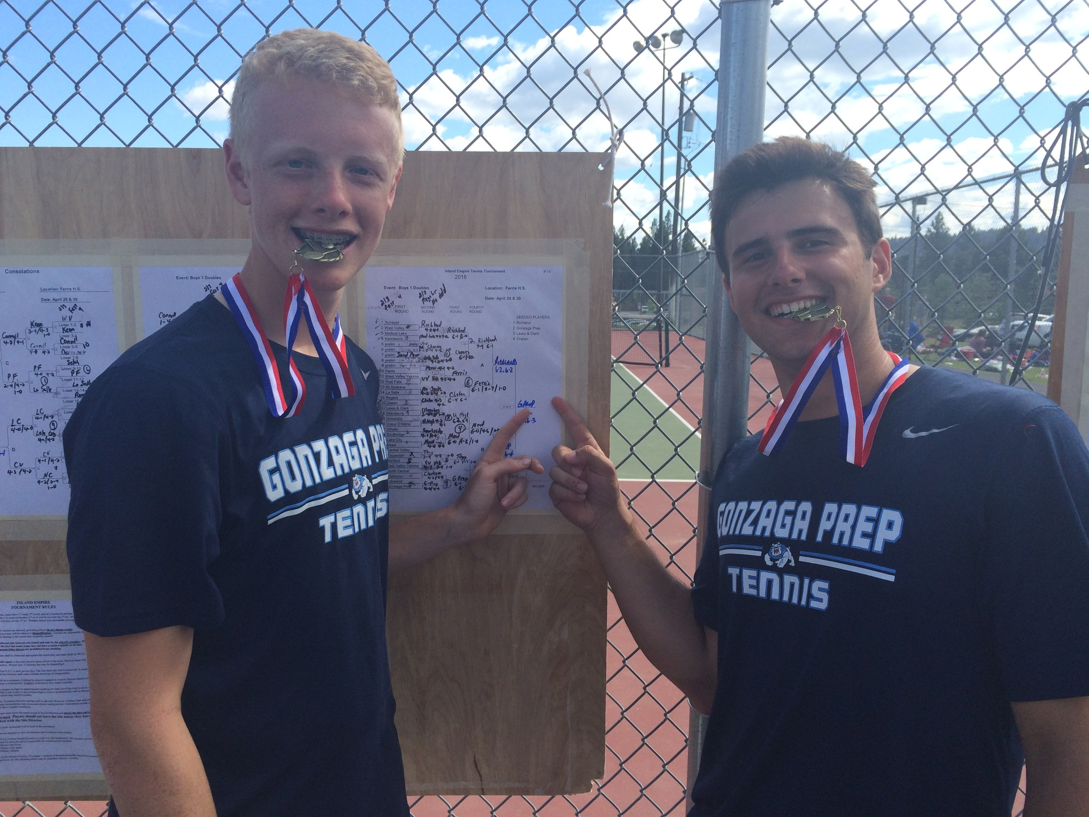 Boys Tennis - IE Champions
