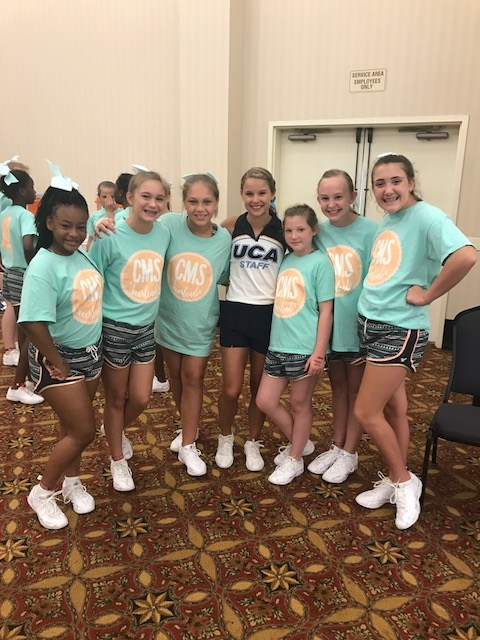 Cheer Camp with our favorite UCA instructors!
