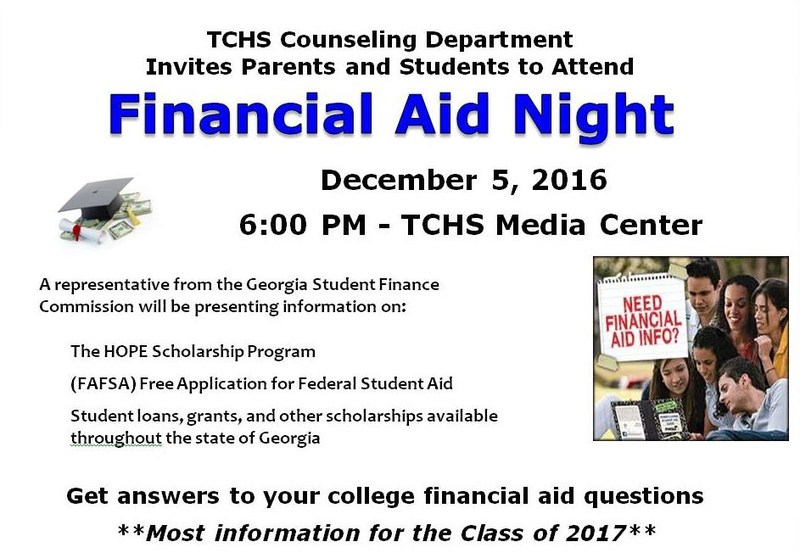 TCHS Financial Aid Night Featured Photo