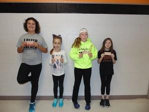 Danica Johnson, Brielle Vargason, Shaylee Greenland, and Danica Vargason
