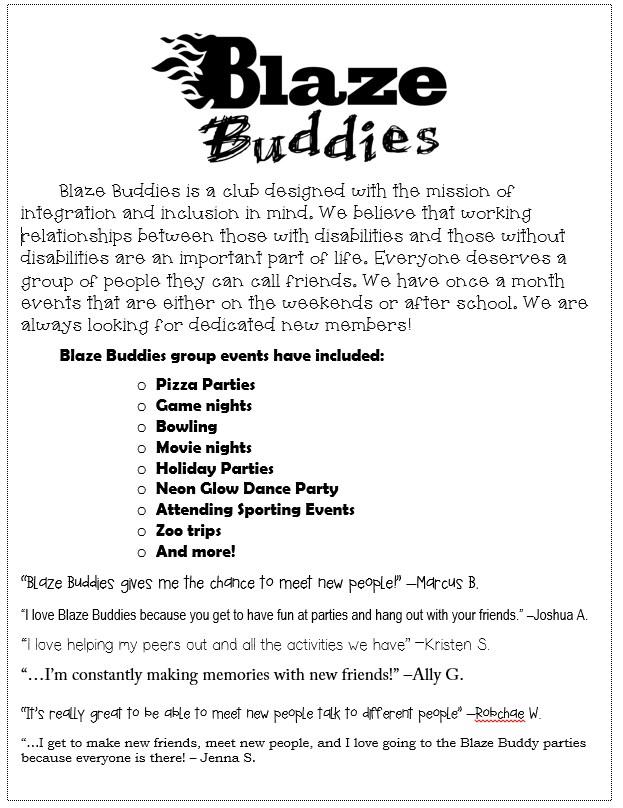 Blaze Buddies Logo & info