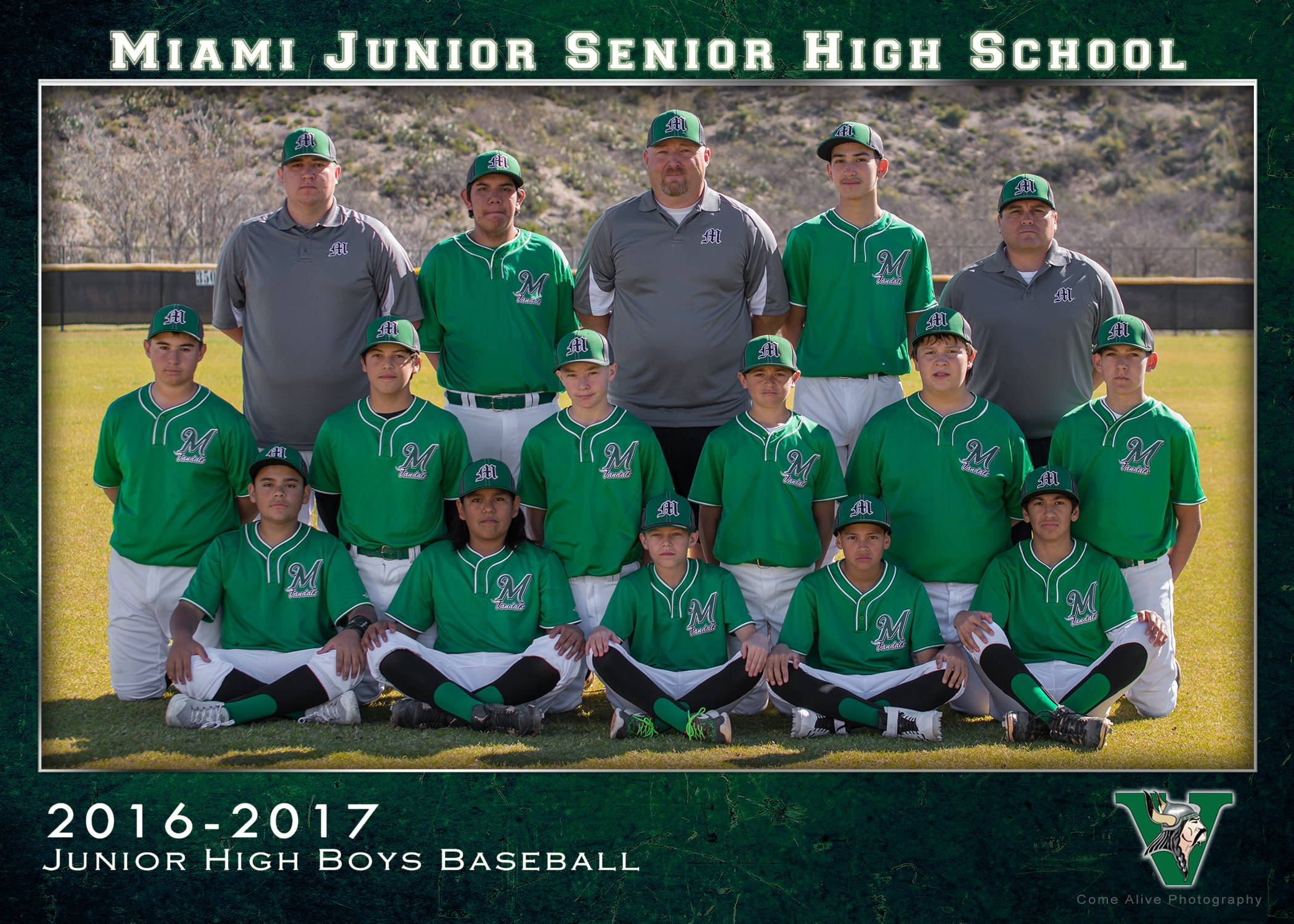 Junior high Boys Baseball