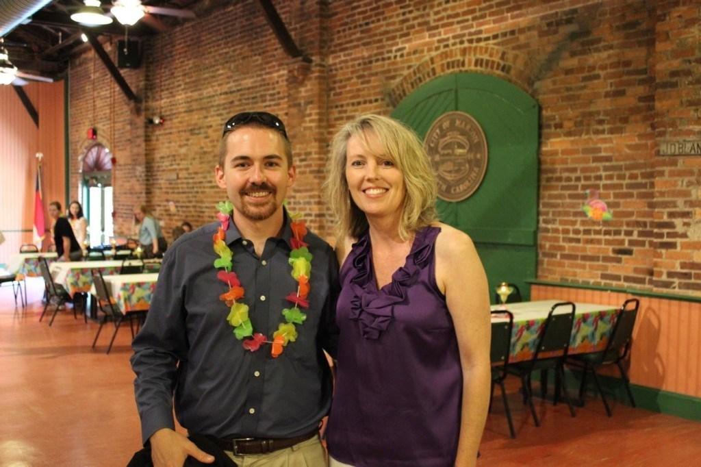 New Teacher Mr. Cole and Natalie Gouge