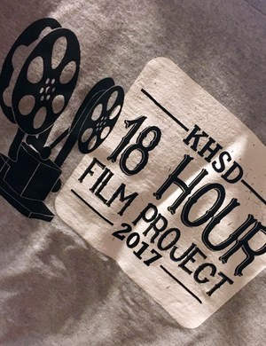 18 Hour Film Project logo shirt