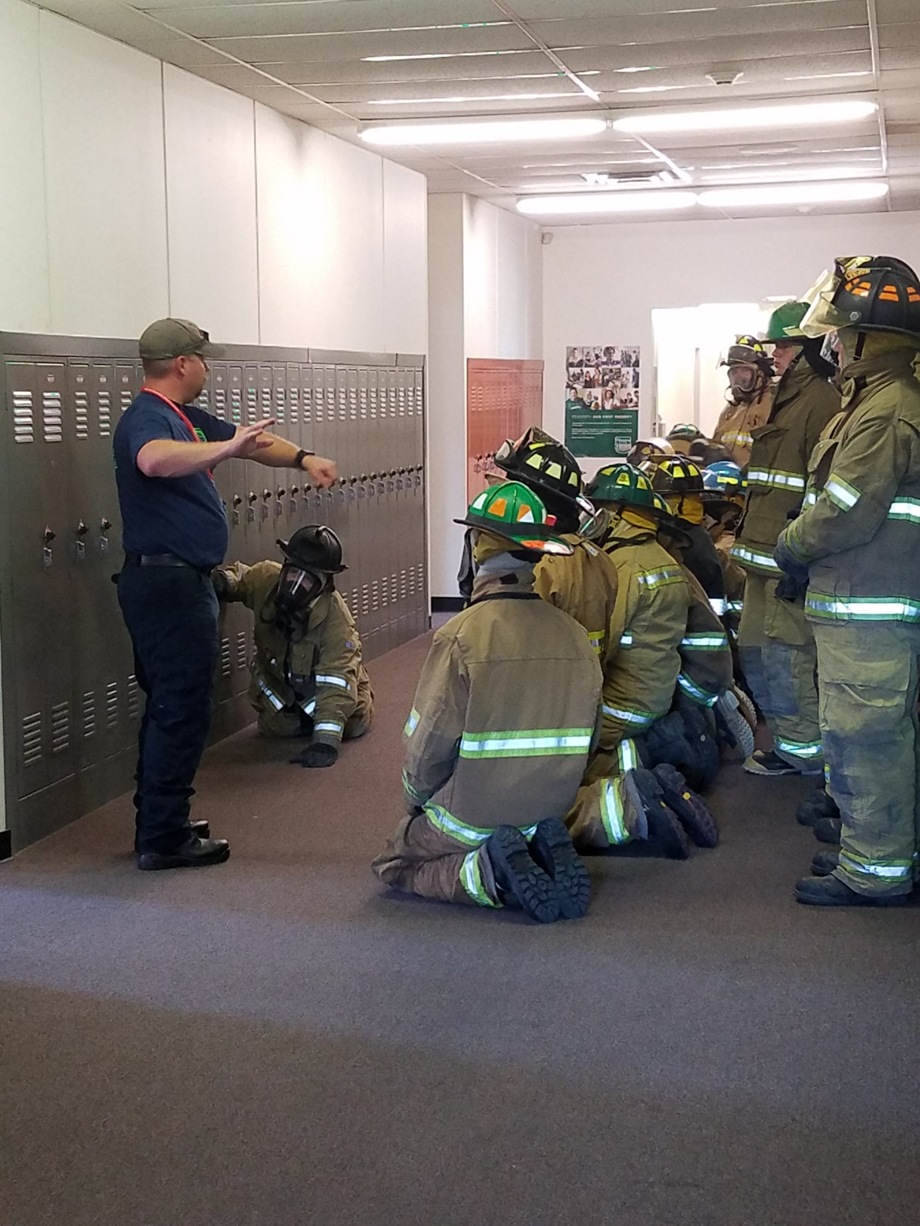 fire class in hall