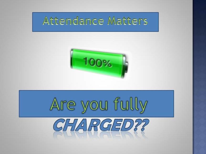 Attendance 100%
