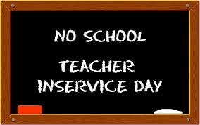No School Friday, January 26 - Teacher In-Service Day Thumbnail Image
