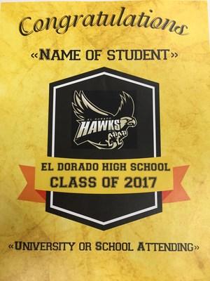 image of graduation banner