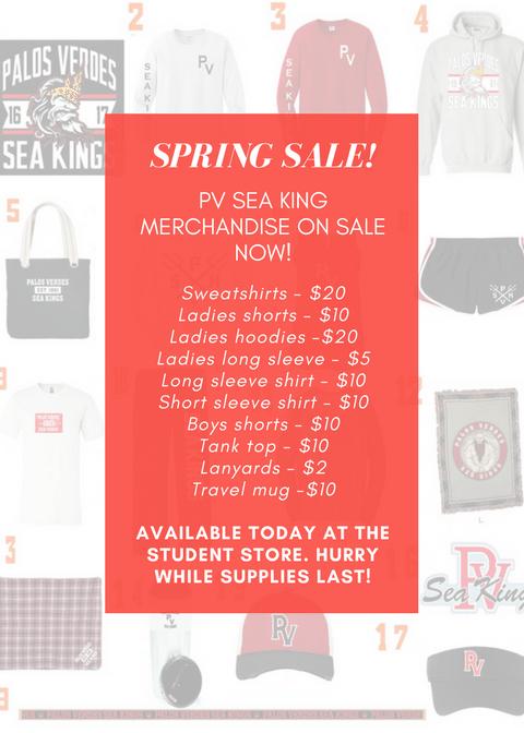 Spring Sale on Sea King Merchandise Thumbnail Image