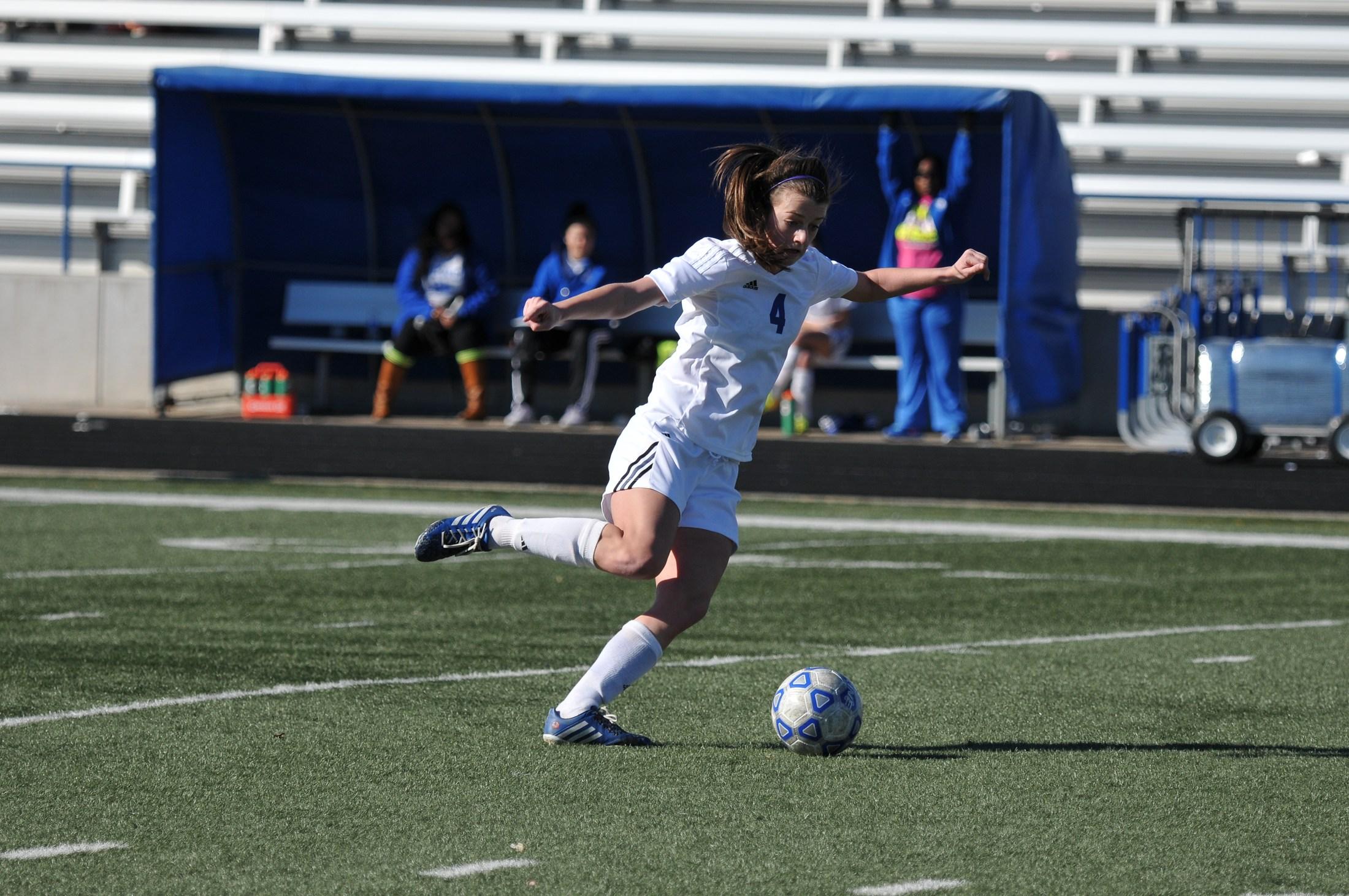 #4 kicking ball