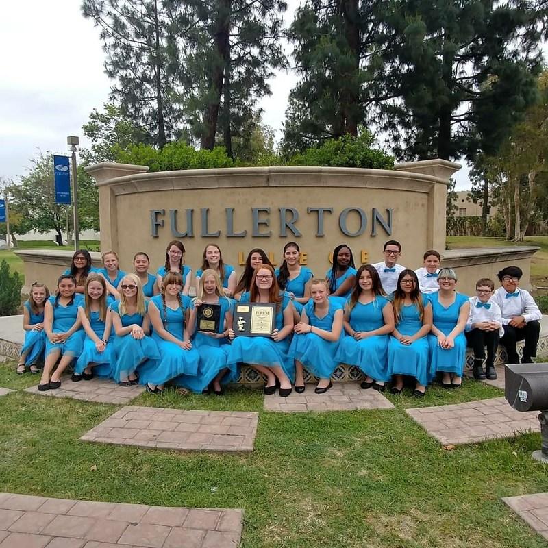 Dartmouth Choir at Fullerton and Disneyland