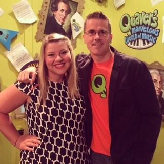 Ms. Burnett met Quaver!