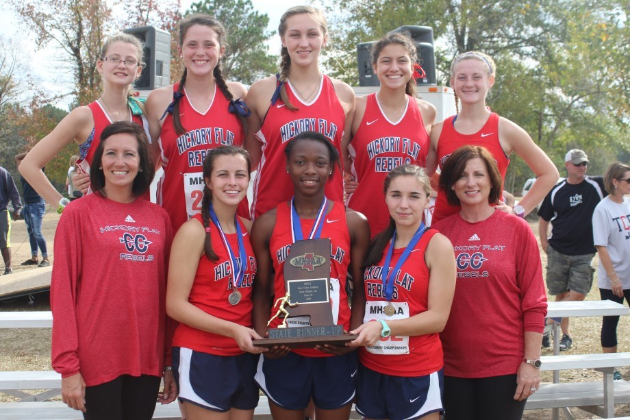 picture of girls cross country team