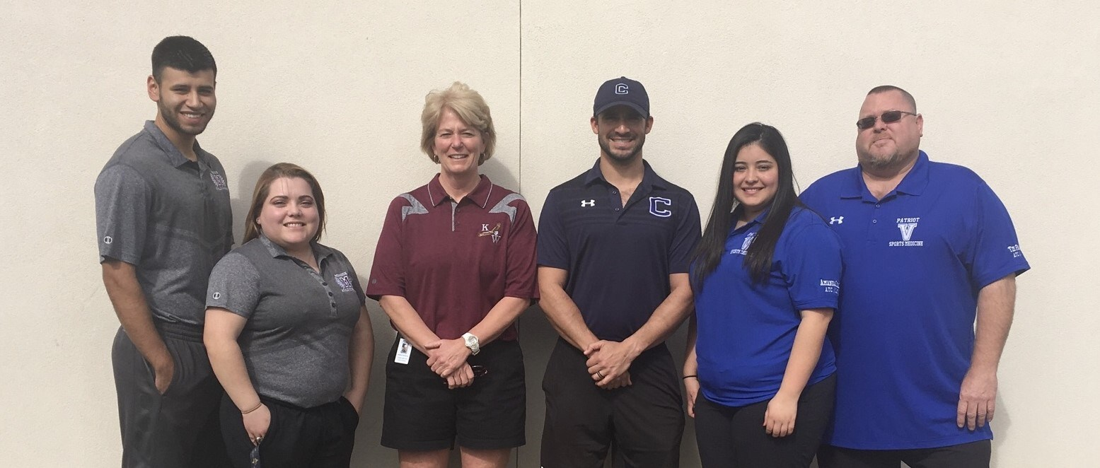 2018 - 2019 MCISD Athletic Trainers.