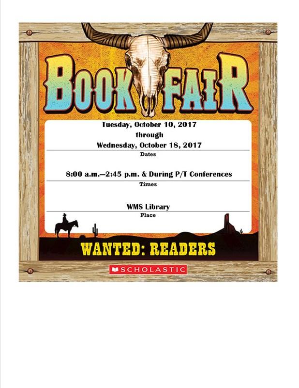 WMS Book Fair! Thumbnail Image
