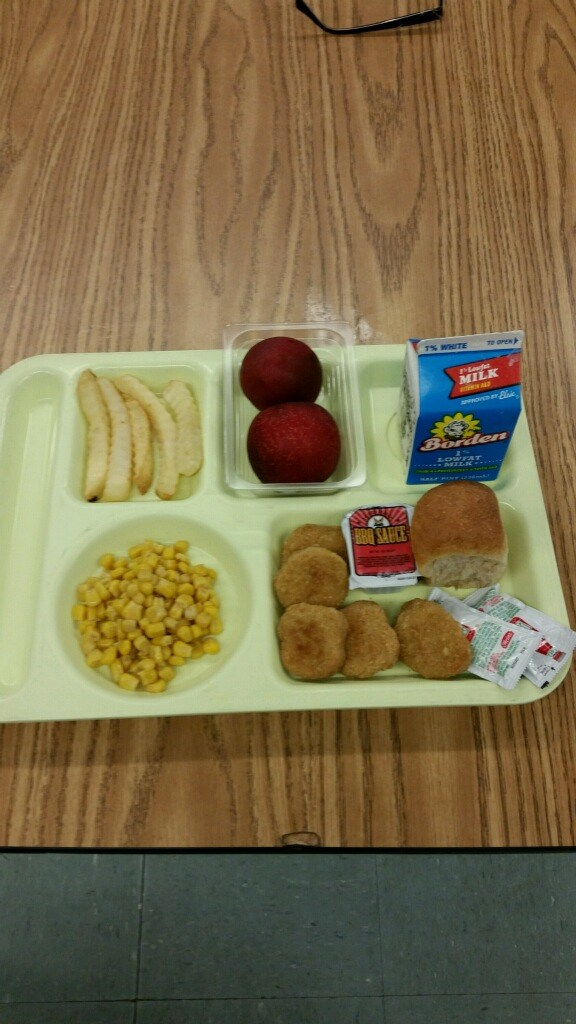 Chicken Nuggets lunch tray