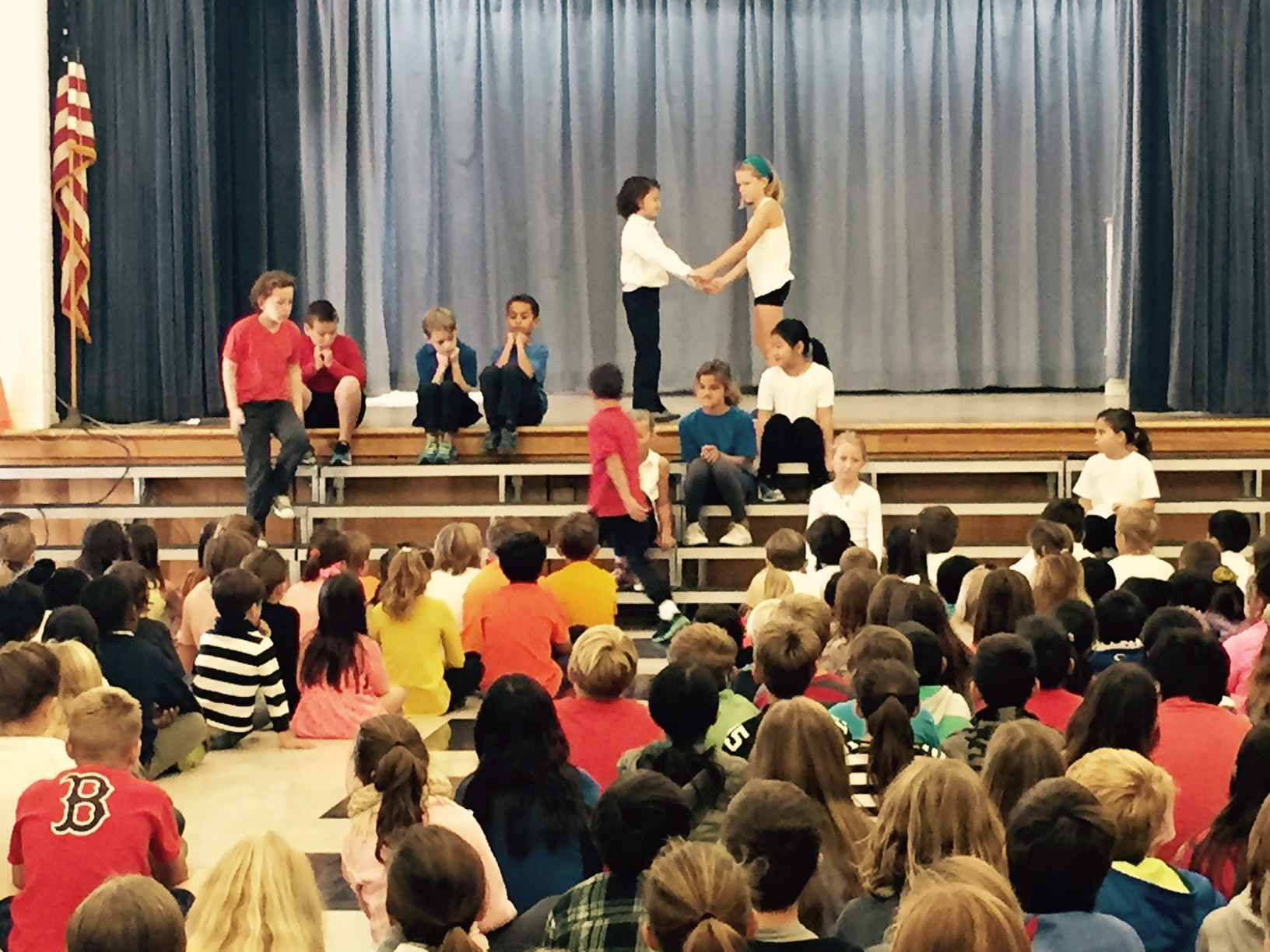 4th grade students perform in the MPR