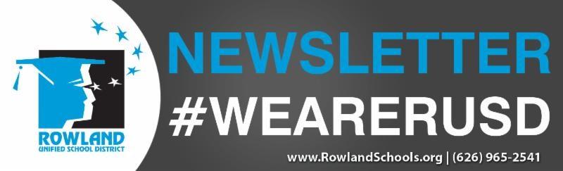 RUSD Newsletter