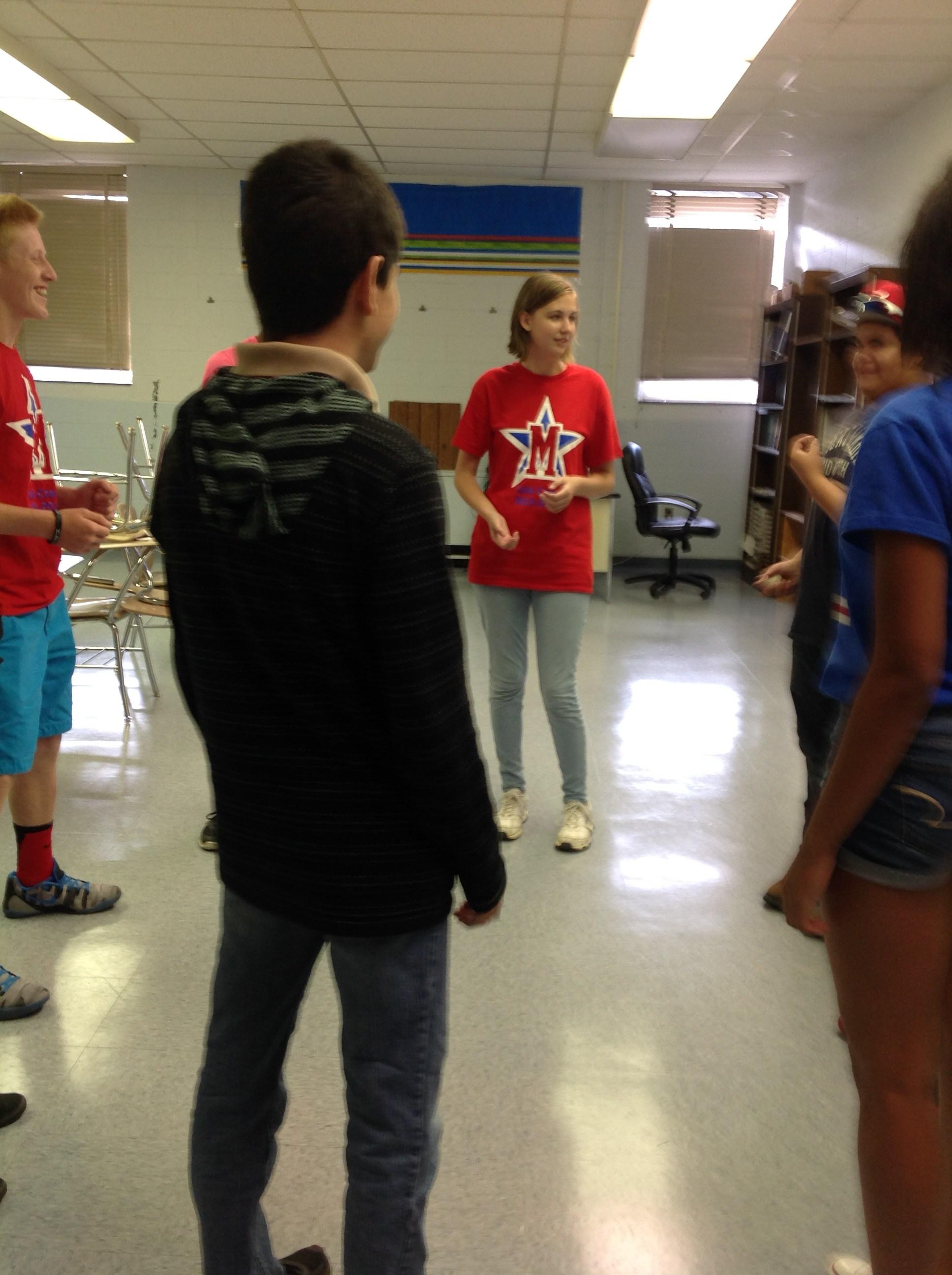 Activities with Freshman