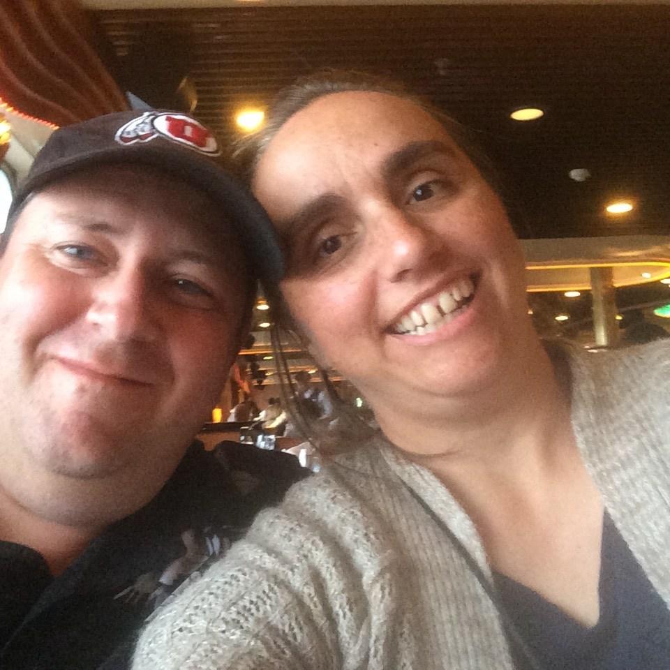 Mr Oviatt with his wife