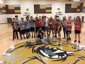 Ms. Root's PE class-softball/baseball unit