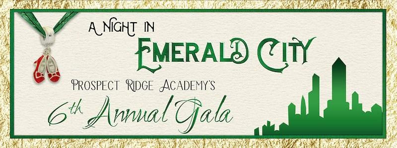 2018 Gala logo, A Night in Emerald City