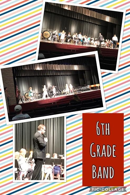 6th Grade Band at Spring Concert Thumbnail Image