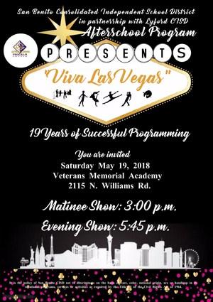 Afterschool Program End of Year Showcase