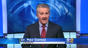Screen shot of Max Gomez during the video