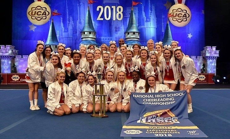 Crusher Cheerleaders Are Three-Time National Champions Thumbnail Image