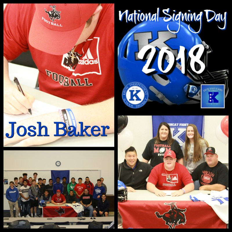 Josh Baker Signs with Northwester Oklahoma State Thumbnail Image