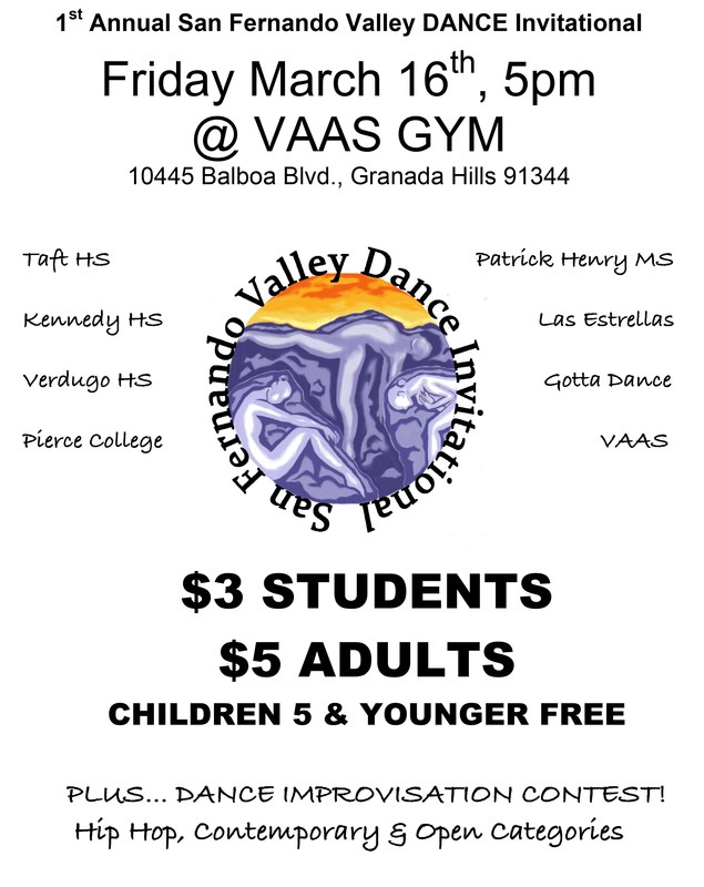 Dance Invitational at VAAS on March 16th Featured Photo