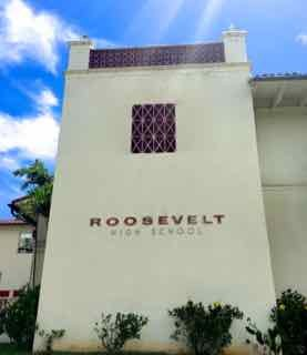 Roosevelt was named as the #1 high school in Hawaii according to U.S. News and World Report.  Go Rough Riders!  Here's a link to an article:  http://khon2.com/2017/04/25/roosevelt-tops-2017-list-of-best-high-schools-in-hawaii/