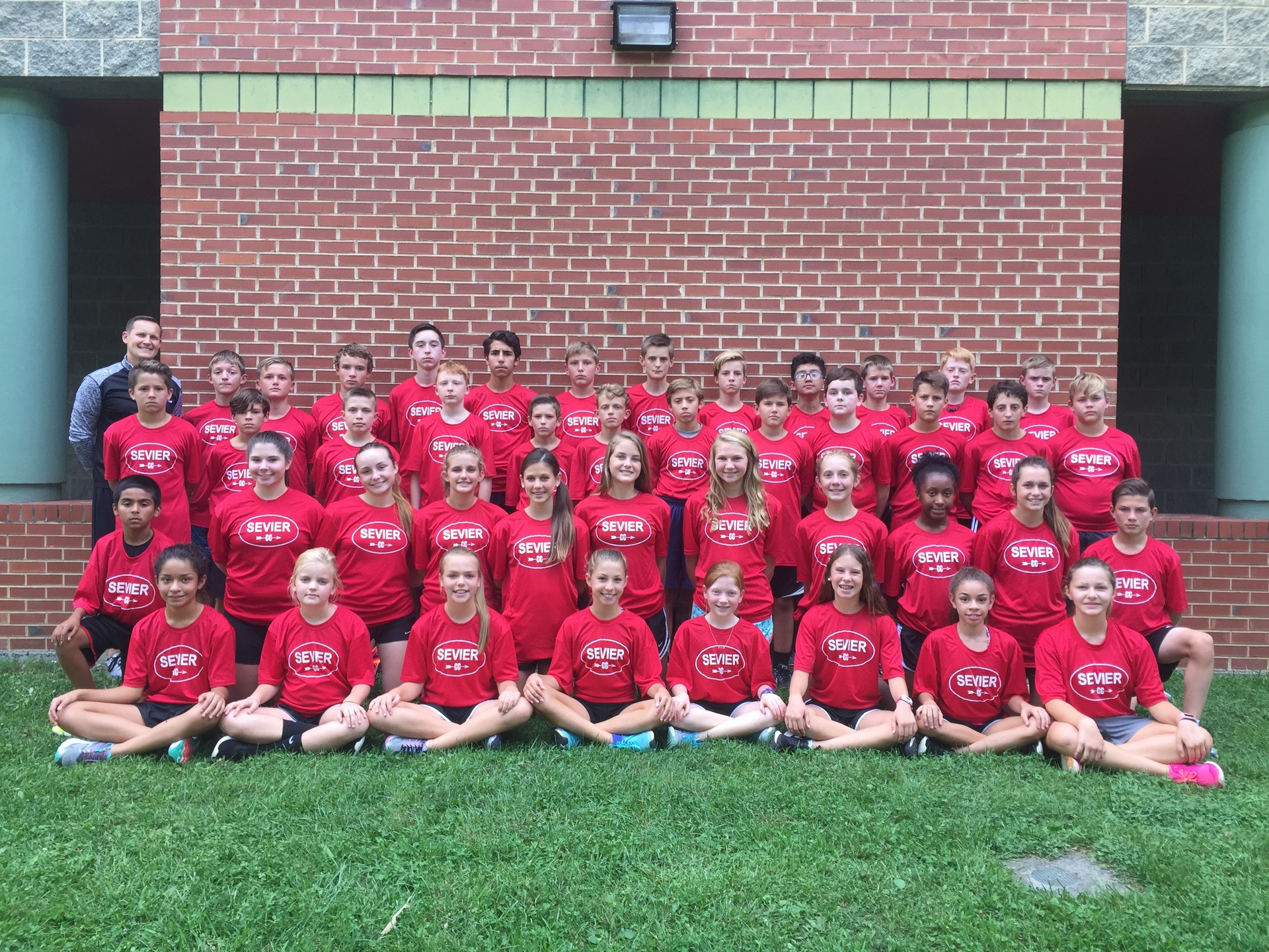 JSMS cross country team