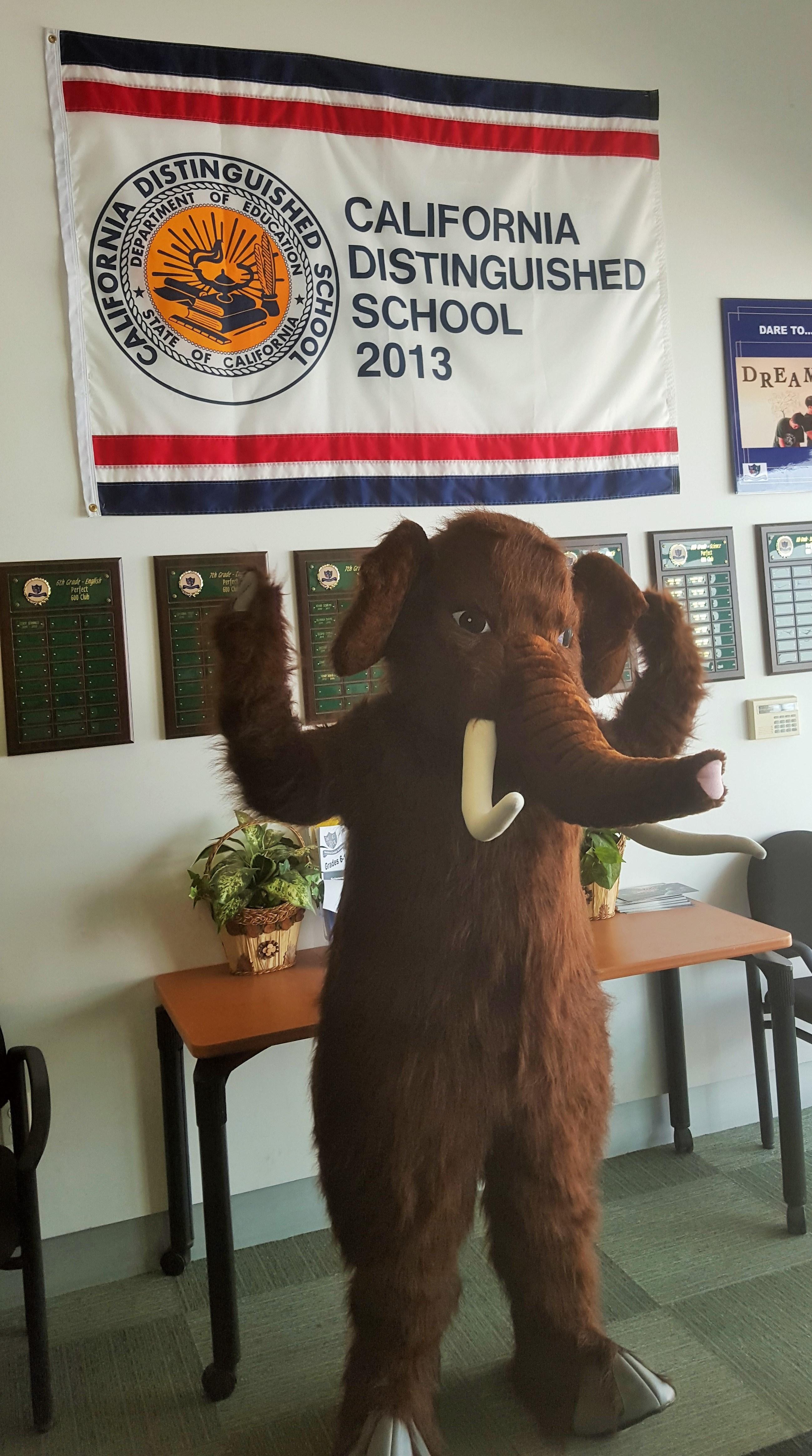Mammoth mascott