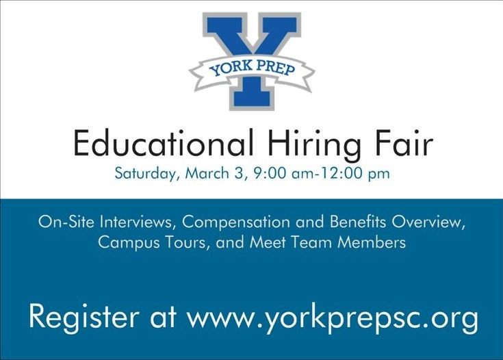 Educational Hiring Fair on March 3rd Featured Photo