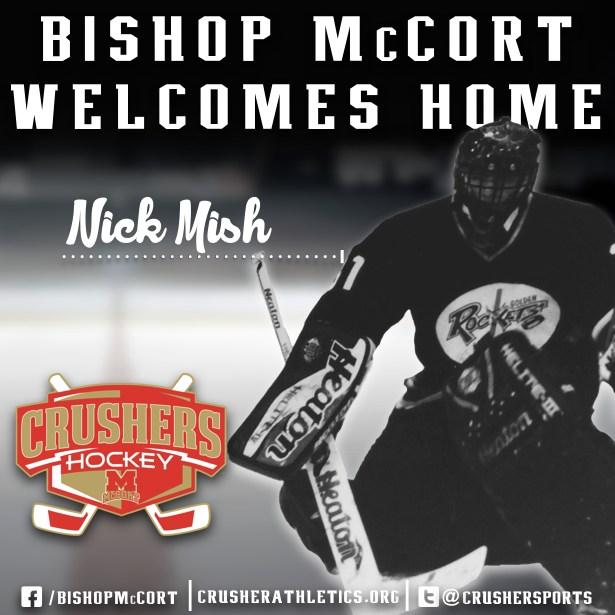 Nick Mish Named Assistant Head Hockey Coach Thumbnail Image