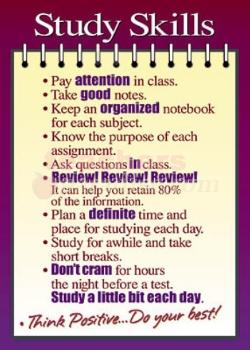 Study Skills – Counseling Department – San Ramon Valley ...