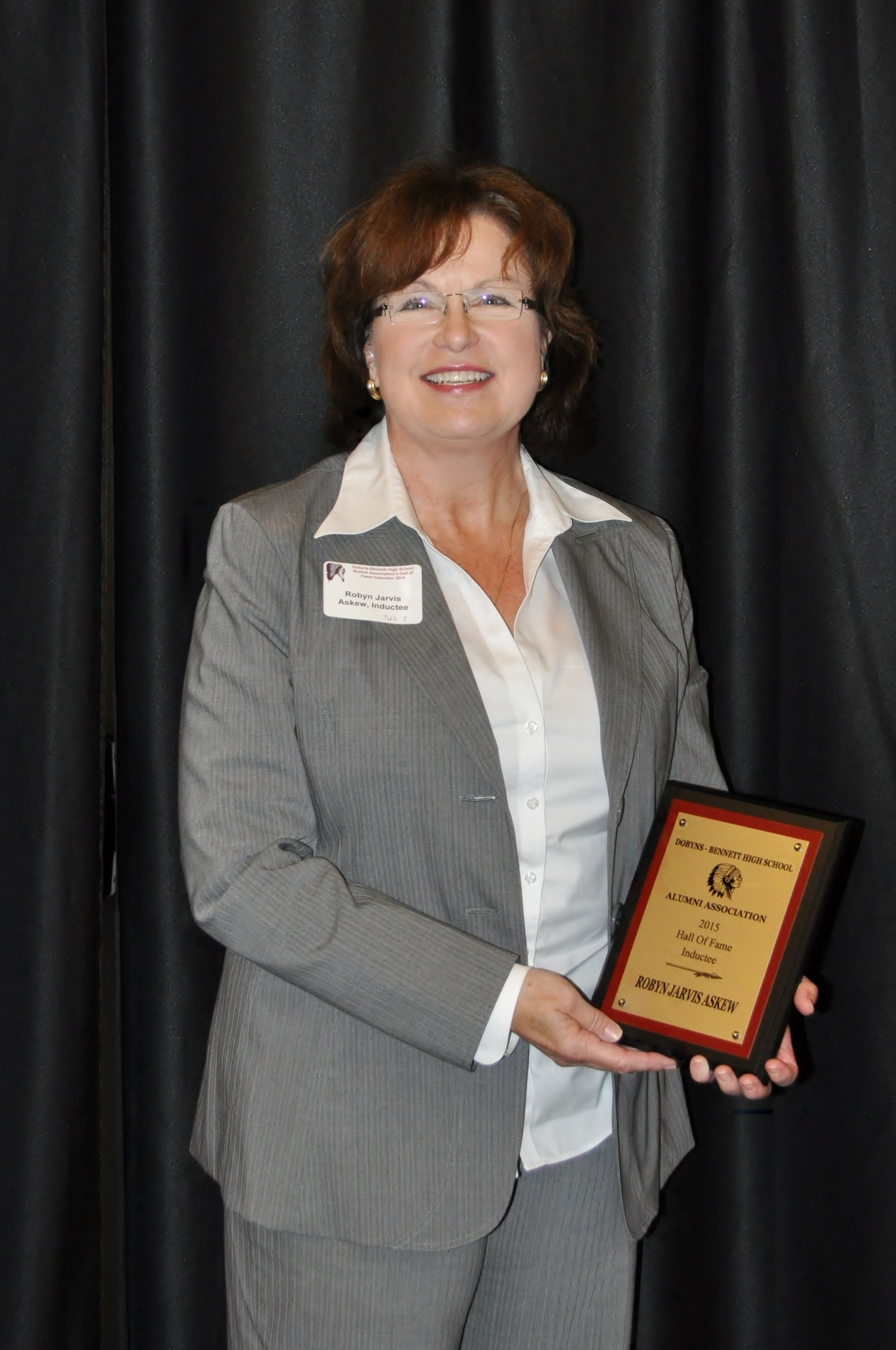 7th Annual Dobyns-Bennett Alumni Hall of Fame Inductee: Robin Jarvis Askew – Class of 1974