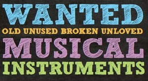 Wanted Music Instruments