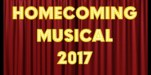 stage with Homecoming Musical 2017